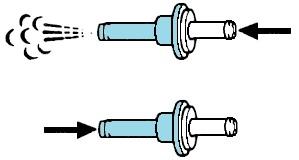 Provera nepovratnog ventila vakuuma servo uređaja