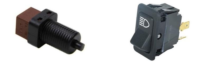 Taster i prekidač kao senzori stanja
