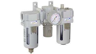 Modul za filtriranje, sušenje i podmazivanje pneumatskog sistema