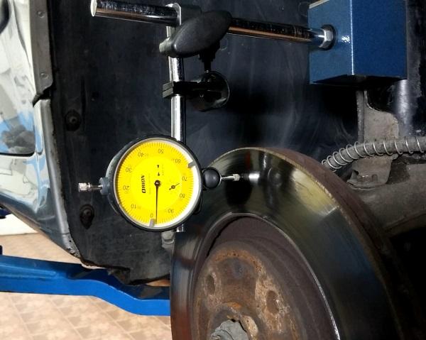 Merenje ravnosti diska