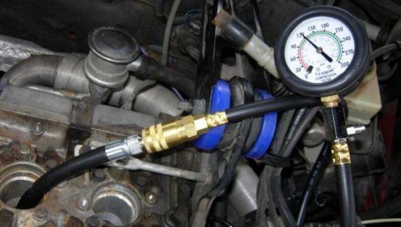 Test kompresije motora