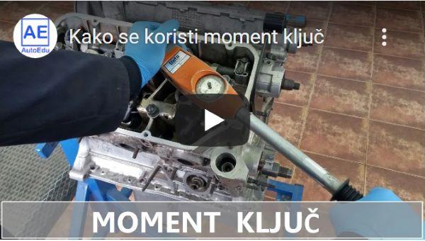 kako se koristi moment ključ