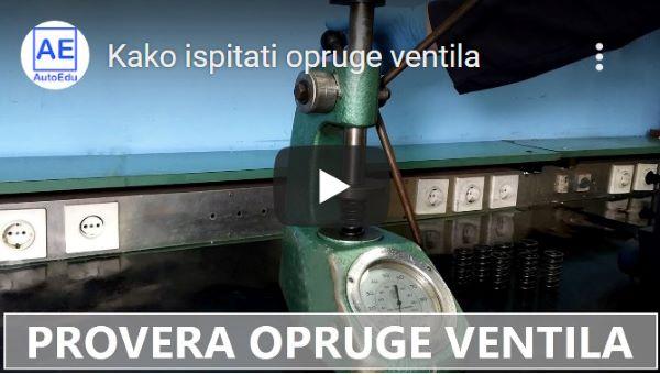youtube - Provera opruge ventila