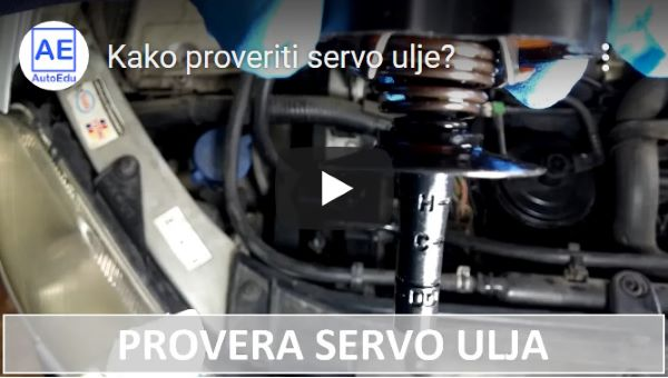 youtube - Provera servo ulja