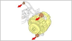 Uklanjanje alternatora
