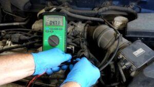 Provera davača temperature motora