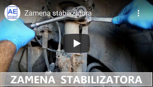youtube - Zamena stabilizatora