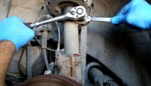 Skidanje i montaža stabilizatora